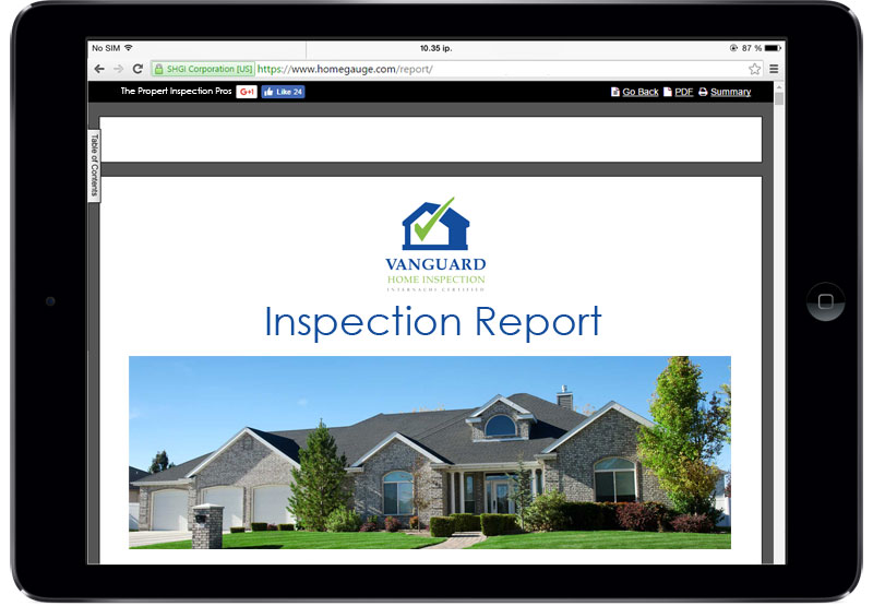 Our Services | Vanguard Home Inspection